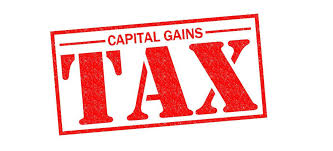 What sales end in Capital Gains?